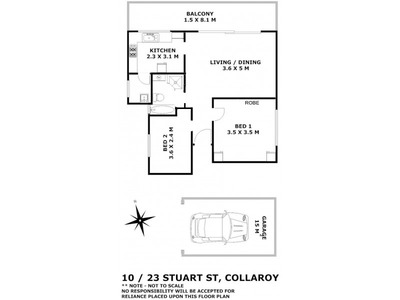 10 / 23 Stuart Street, Collaroy