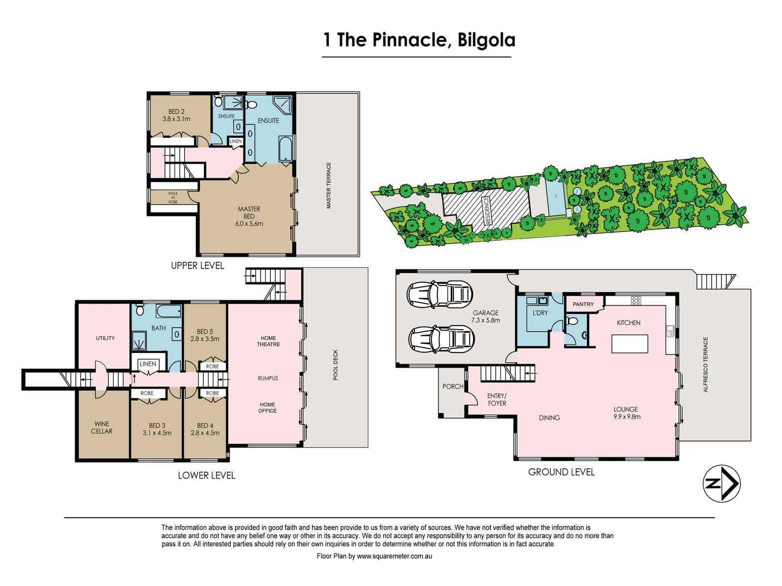 1 The Pinnacle, Bilgola