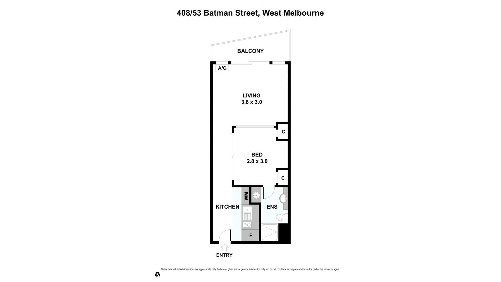 408 / 53  Batman Street, West Melbourne