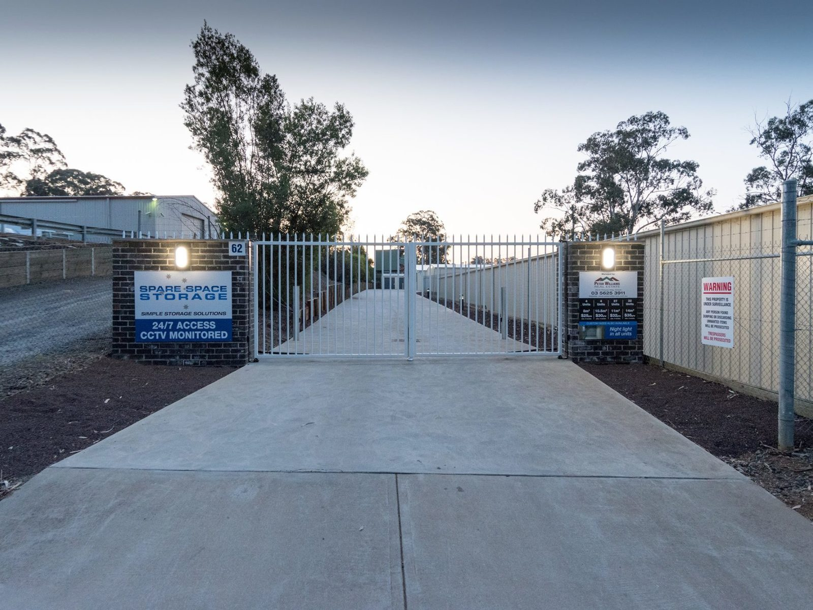 . Self Storage Sheds - 62 Weerong Road, Drouin