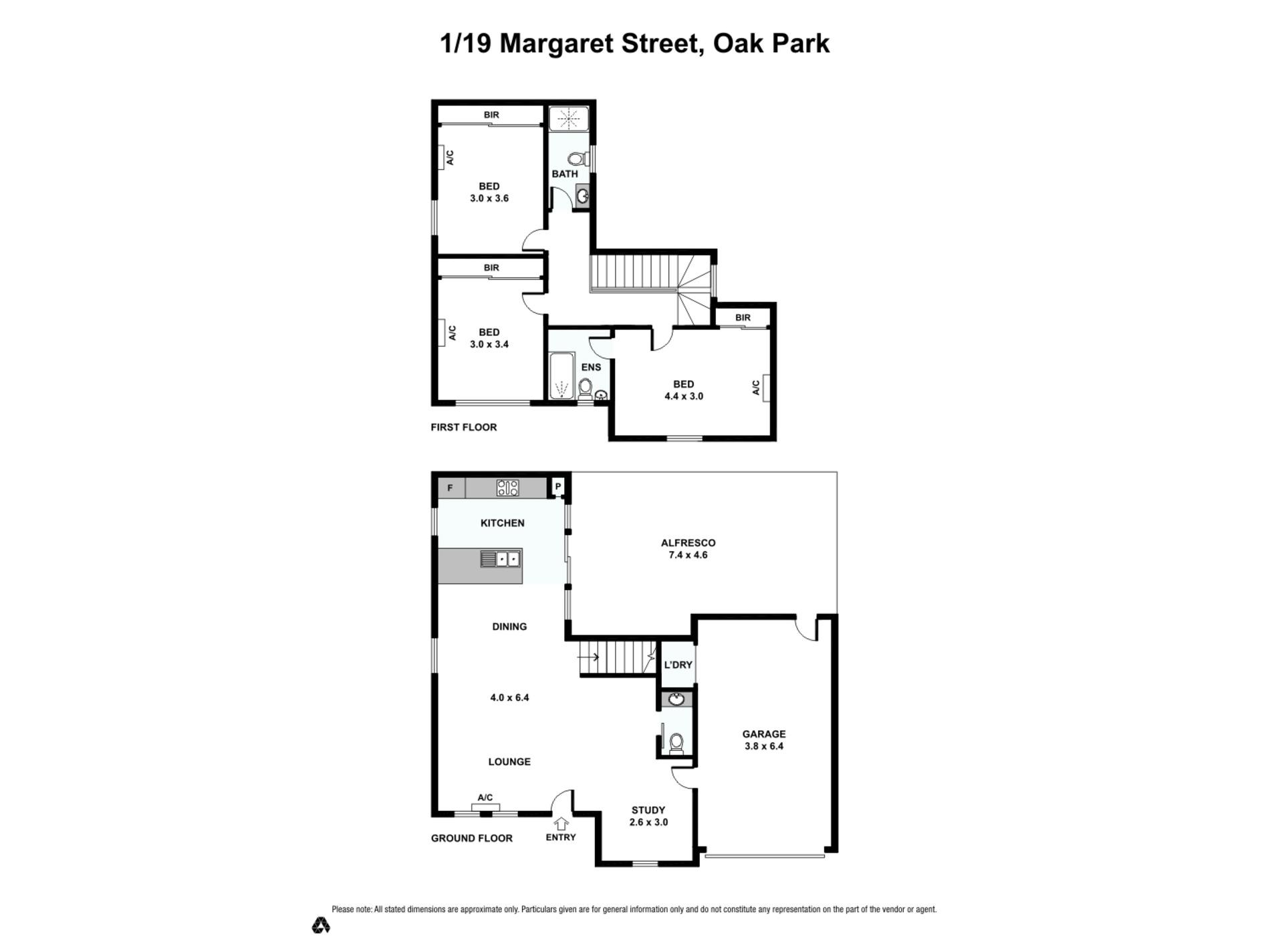1 / 19 Margaret Street, Oak Park