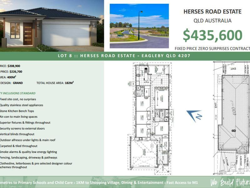 Lot 8 Herses Road Estate, Eagleby