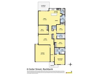 6 Cedar Street , Rockbank
