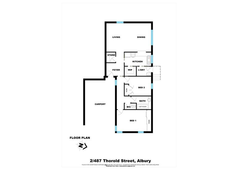 2 / 487 Thorold Street, Albury