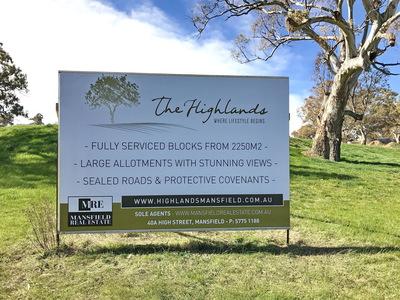 Lot 27, Highlands Estate, Mansfield