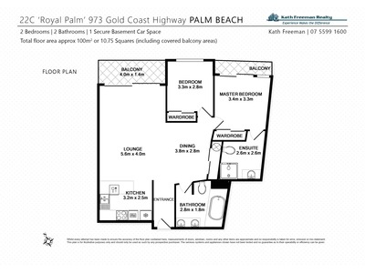 22c / 973 GOLD COAST HWY, Palm Beach