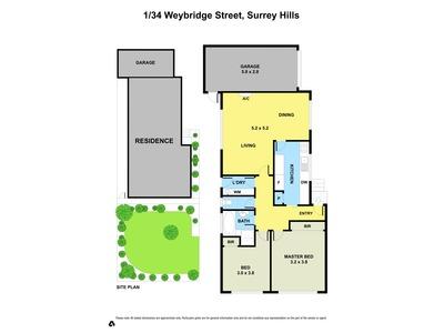 1 / 34 Weybridge Street, Surrey Hills