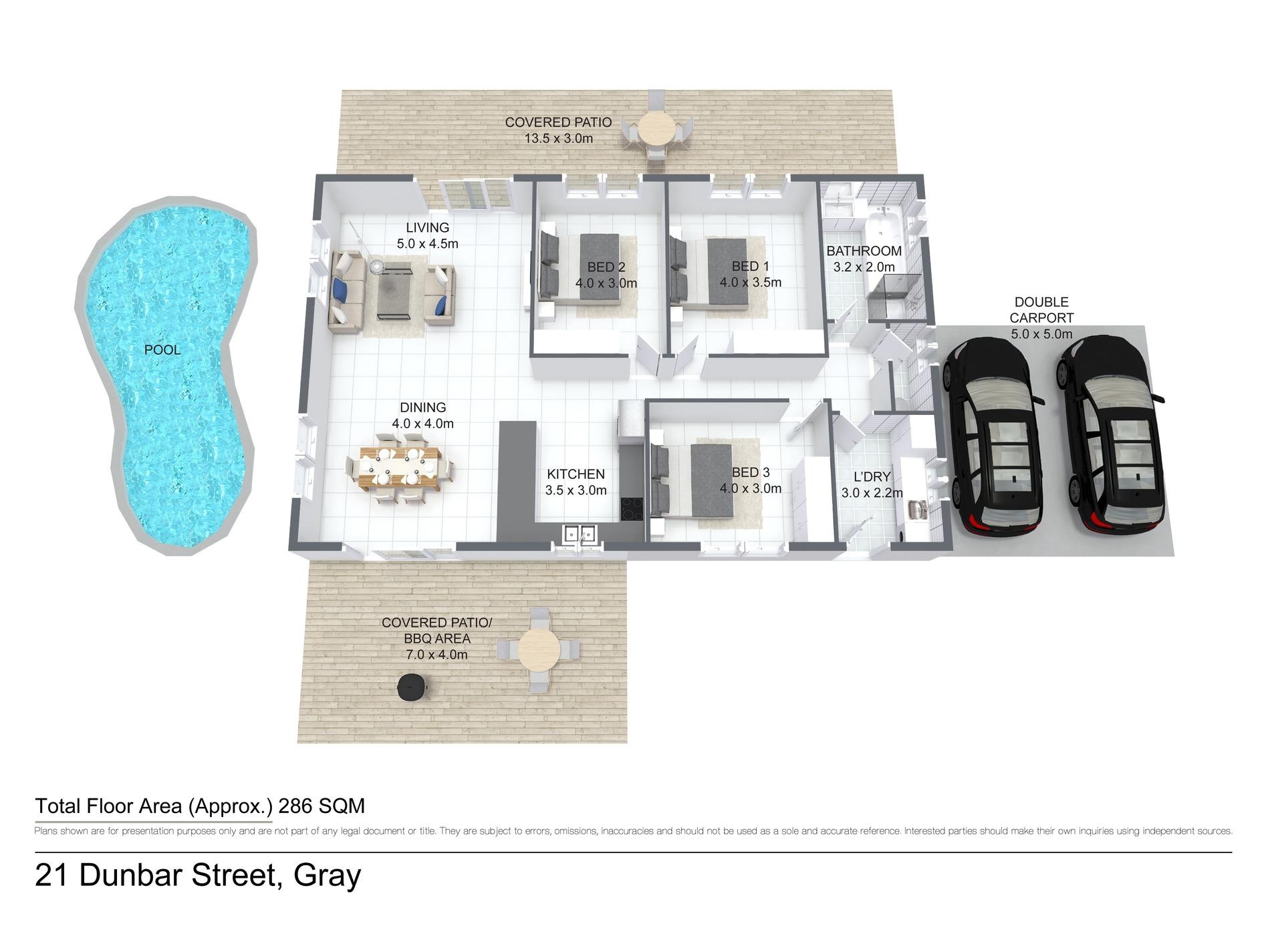 21 Dunbar Street, Gray