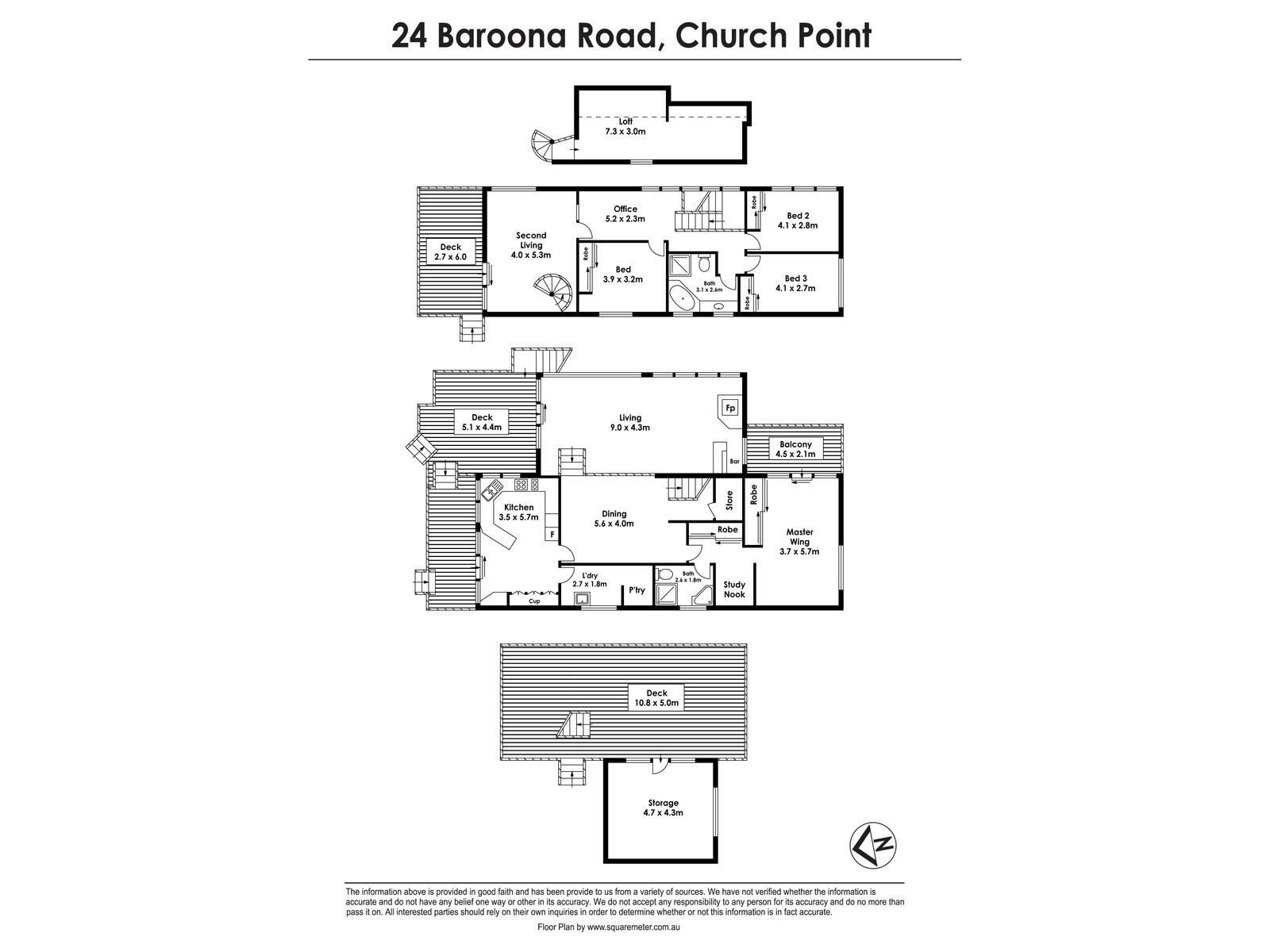 24 Baroona Road, Church Point