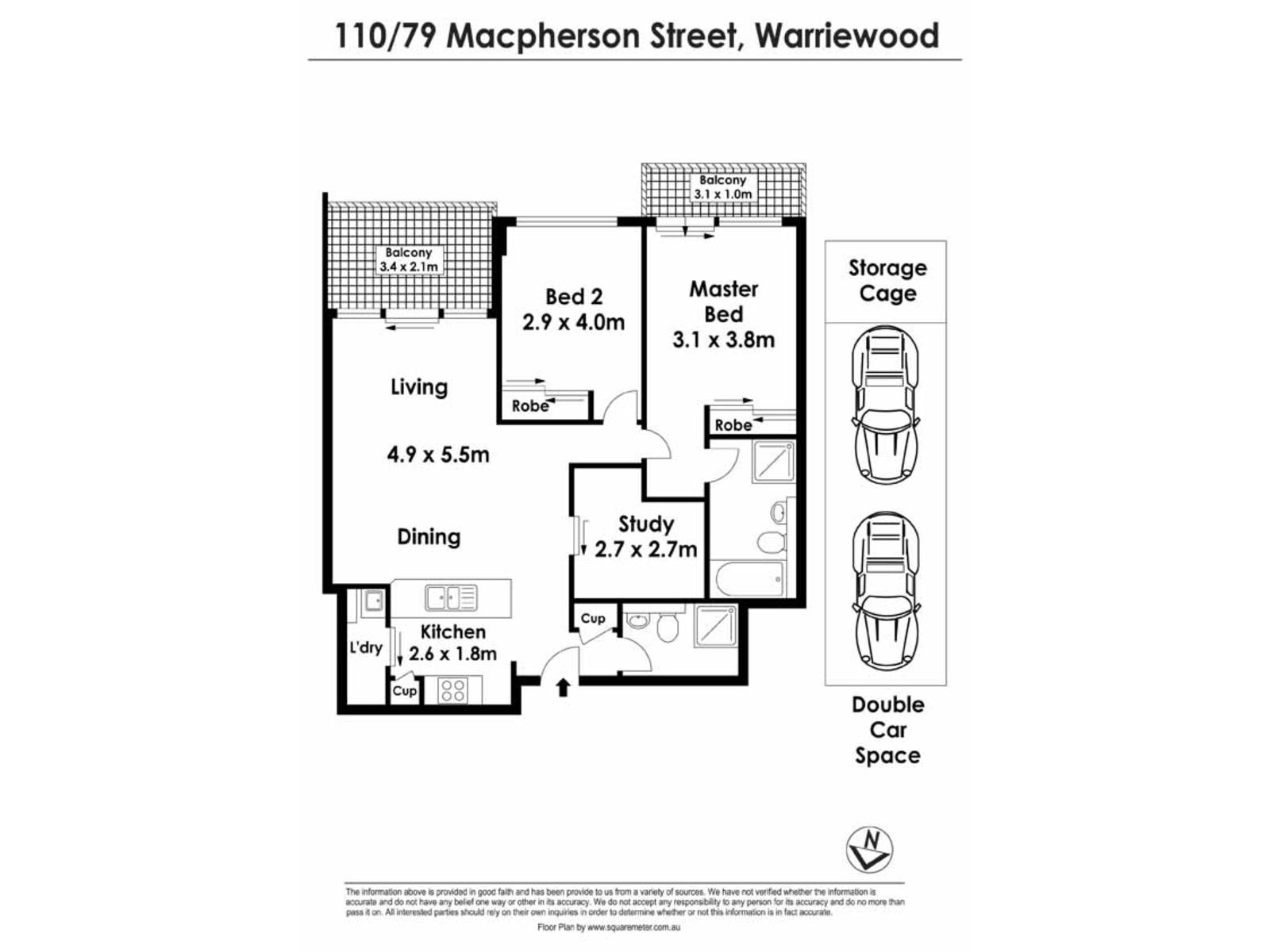 110 / 79 Macpherson Street, Warriewood