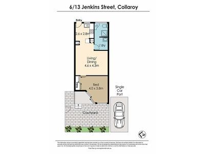 6 / 13 Jenkins Street, Collaroy