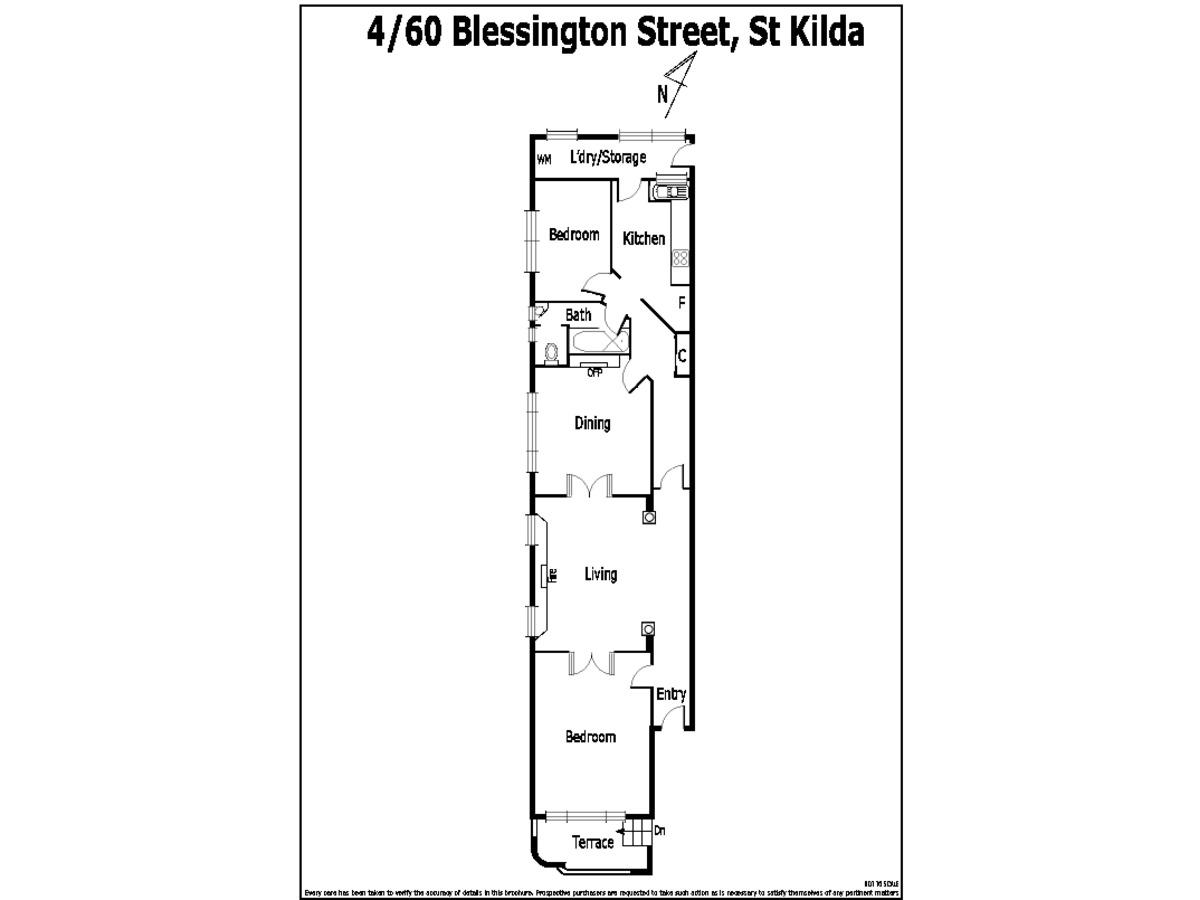 4 / 60 Blessington Street, St Kilda