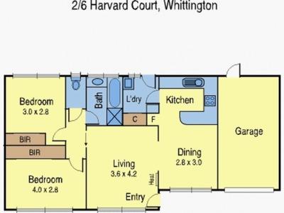 2 / 6 Harvard Court, Whittington