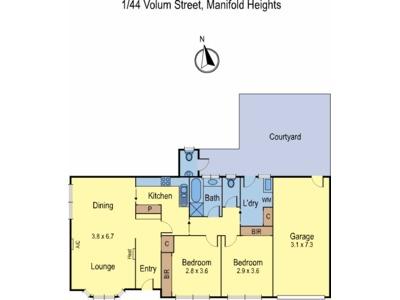 1 / 44 Volum Street, Manifold Heights