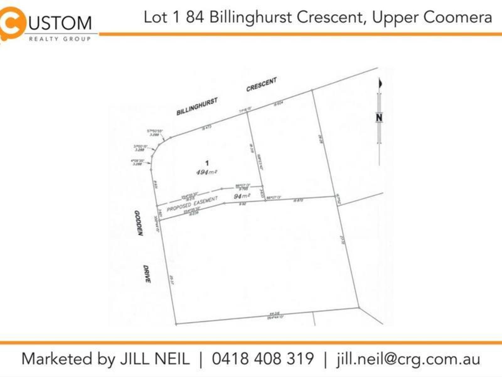 Lot 1, 84 Billinghurst Crescent, Upper Coomera