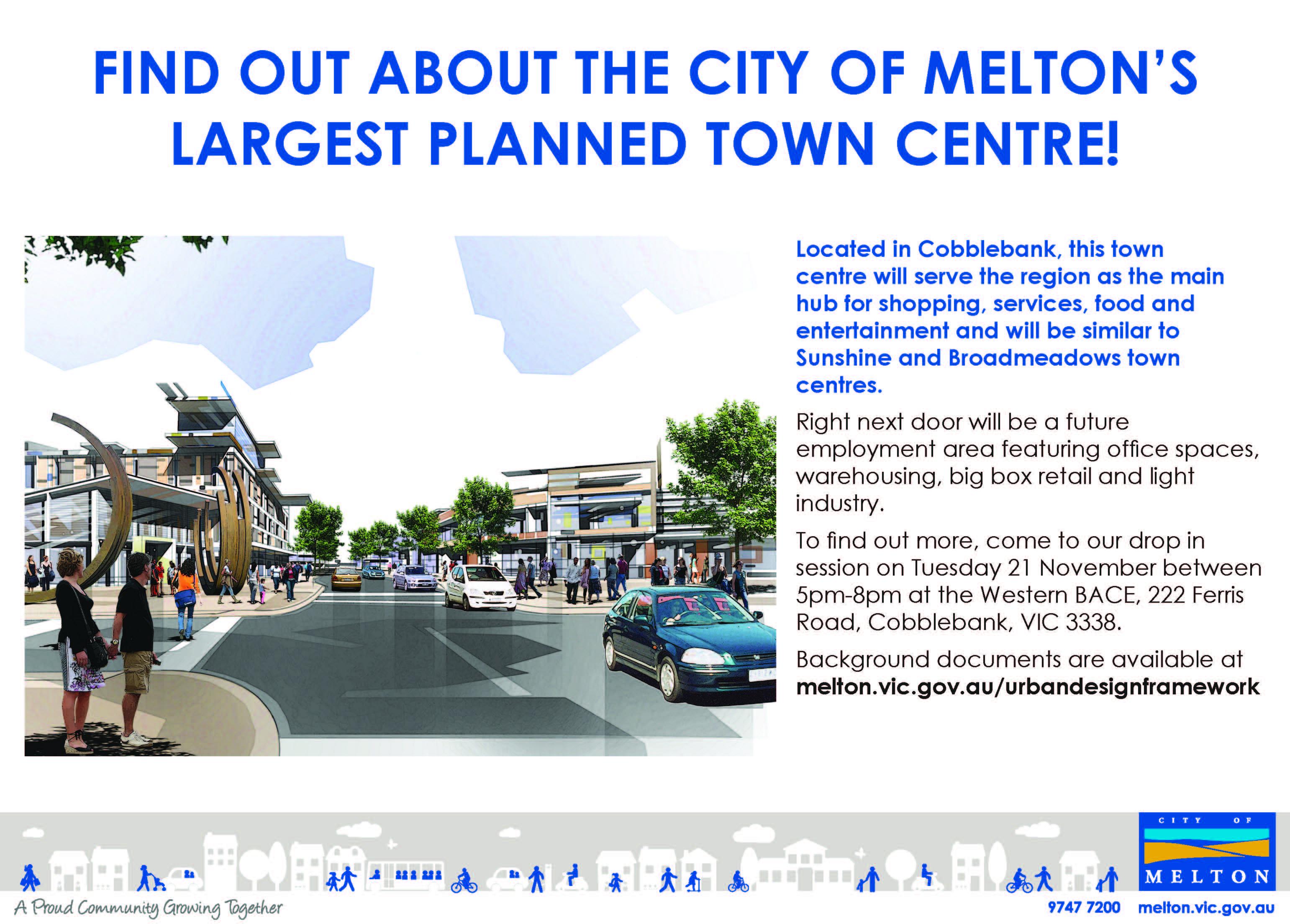 Cobblebank Town Centre - Information Session